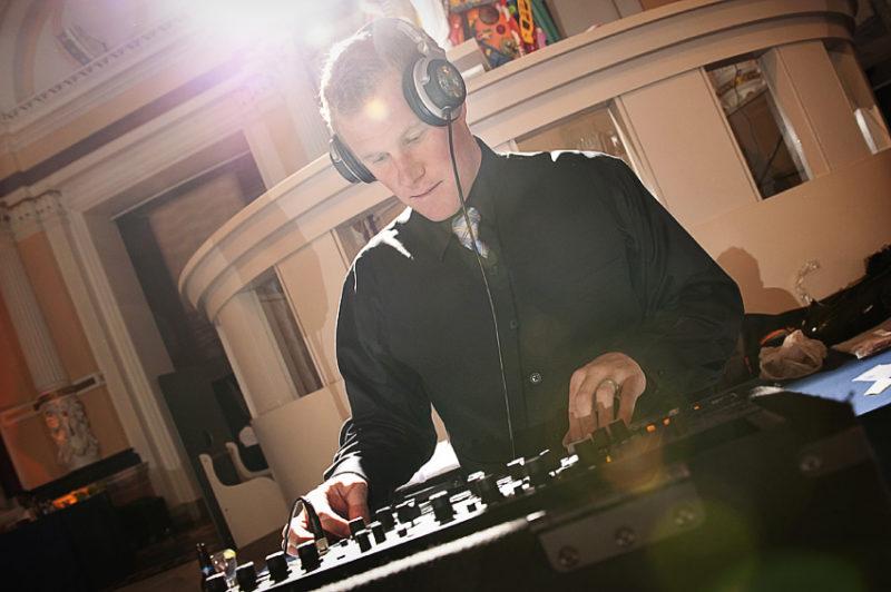 Resident DJ Jim Gosser